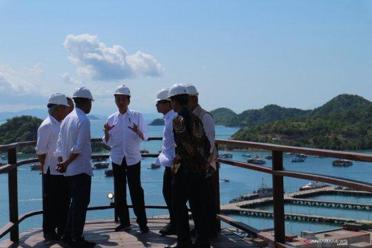 Presiden Jokowi coba Puncak Waringin di Labuan Bajo, ini harapannya
