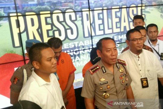 Satreskrim Polrestabes Palembang ungkap sindikat pemalsu SIM