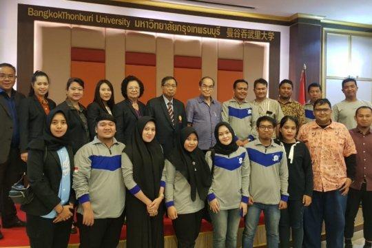 Kunjungan pendidikan dilakukan Unimed ke Bangkok Thonbury University