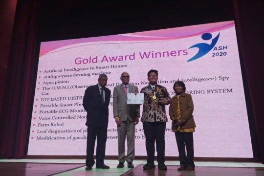 Putra Bupati Serang raih emas pada kompetisi sains di India