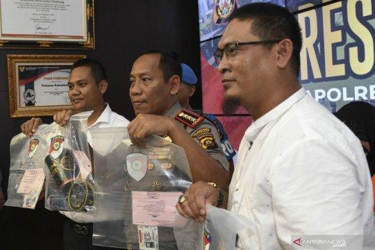Kasus pemalsuan SIM di Palembang