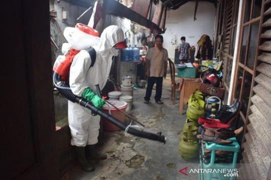 PMI Tangerang sudah penyemprotan disinfektan 1.802 rumah