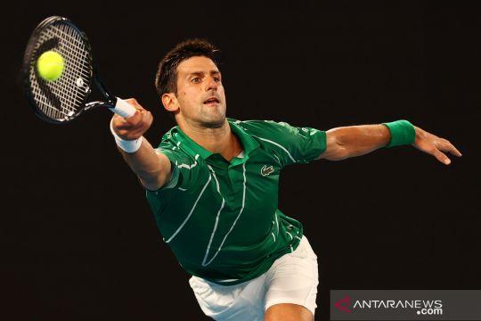 Australia Open: Djokovic kalahkan petenis Jerman Jan-Lennard Struffennis