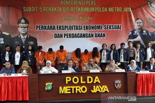 Polda Metro Jaya bongkar prostitusi anak di Jakarta Utara