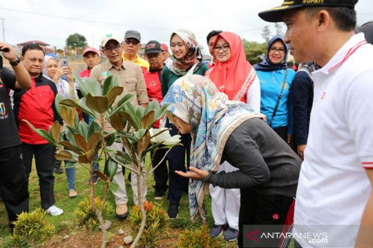 Wagub Lampung ajak masyarakat nikmati keindahan Kebun Raya Liwa