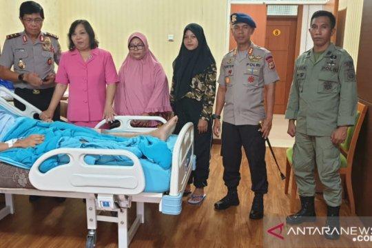 Kapolda Maluku jenguk anggota Brimob korban penembakan KKB