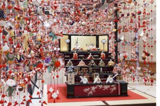 "Keio Plaza Hotel Tokyo gelar pameran seni Festival Boneka Anak Perempuan ""Hina-Matsuri"""