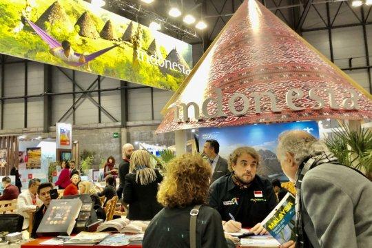 Wisatawan Spanyol berburu info di FITUR