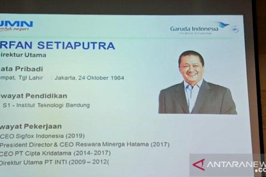 Dirut Irfan Setiaputra: Menteri BUMN ingin Garuda lebih profit