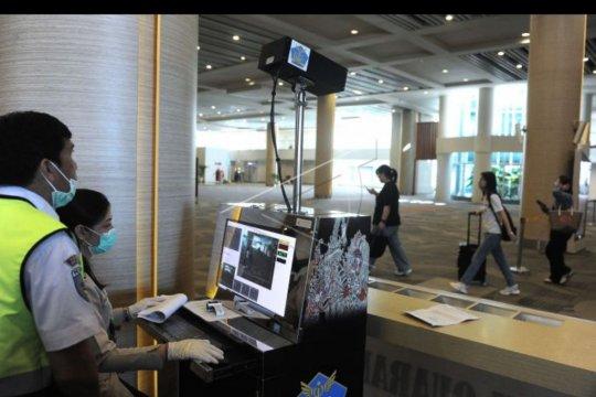 Pencegahan virus corona di Bandara Ngurah Rai