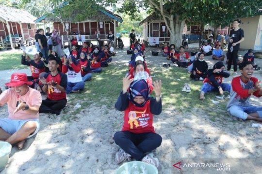 PMI hibur untuk relawan yang bertugas selama bencana Sulteng