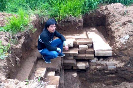 Temuan batuan diduga bangunan candi di Dieng segera diekskavasi BPCB
