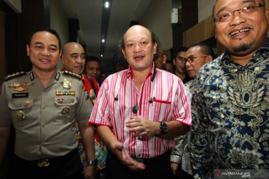 Cucu mendiang Presiden Soeharto diperiksa Polda Jatim