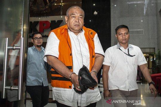 KPK tahan tersangka swasta kasus korupsi proyek di Solok Selatan