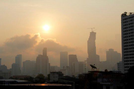 Sekitar 450 sekolah ditutup akibat polusi udara parah di Bangkok