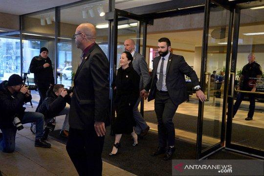 Pengacara ajukan penundaan ekstradisi bos Huawei Meng Wanzhou
