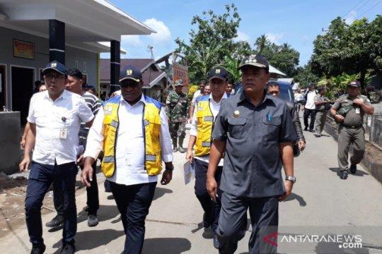 Wamen PUPR janji percepat perbaikan fasilitas pasca bencana di Sangihe