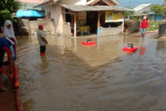Banjir rendam enam sekolah di Sukarame, siswa dipulangkan