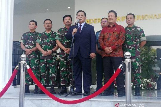 Pertahanan rakyat semesta, Prabowo: TNI sebagai komponen inti
