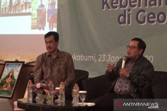 Jamkrindo-Pemkab Sukabumi kampanyekan antisampah plastik di Geopark