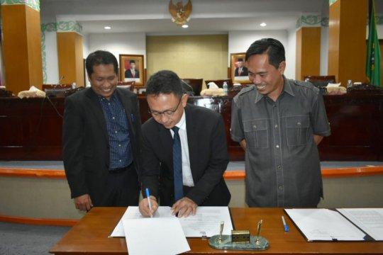 Pemkot Pontianak-DPRD sepakati lima Raperda