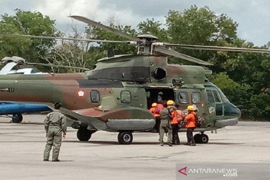 Helikopter TNI AU dukung pencarian TKI korban kecelakaan kapal di Riau