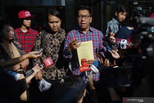Koalisi Masyarakat Sipil Antikorupsi laporkan Yasonna