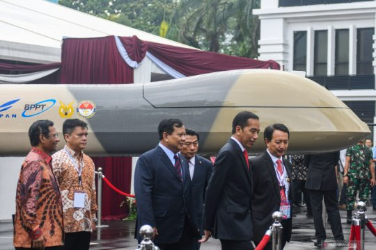 Presiden Jokowi hadiri Rapim Kemhan, TNI dan Polri
