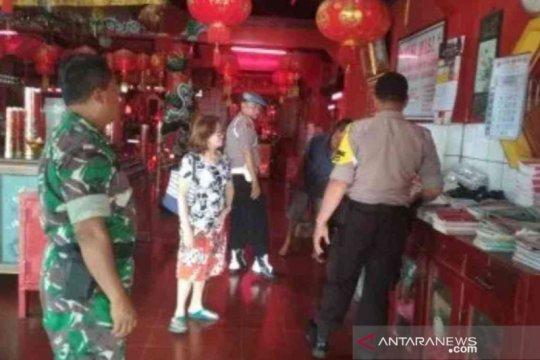 Kepolisian Bekasi amankan kelenteng jelang Imlek