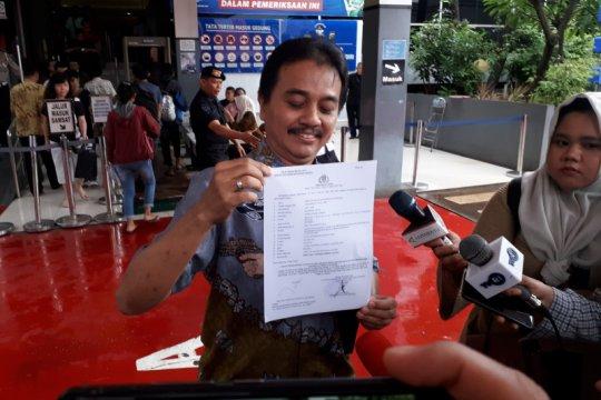 Roy Suryo laporkan penyebaran hoaks oleh Sunda Empire ke Polisi