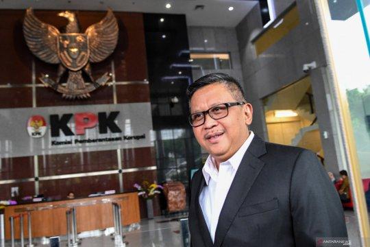 Sekjen PDI Perjuangan Hasto Kristiyanto penuhi panggilan KPK