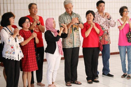 Ganjar bersilaturahmi komunitas Tionghoa di Semarang jelang Imlek