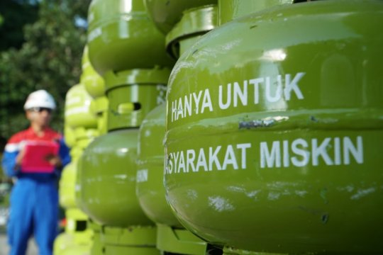 Polisi tangkap penjual tabung elpiji bersubsidi tanpa izin