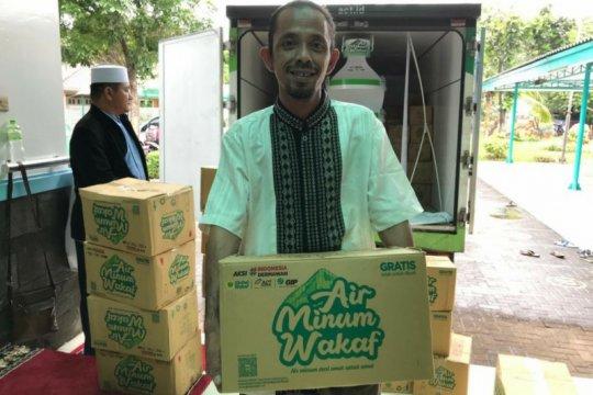 Global Wakaf - ACT hadirkan air minum wakaf di masjid Jakarta