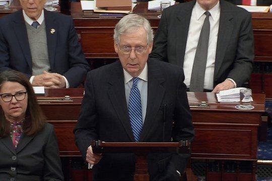 Setelah sidang pemakzulan, senator AS akan kunjungi Ukraina