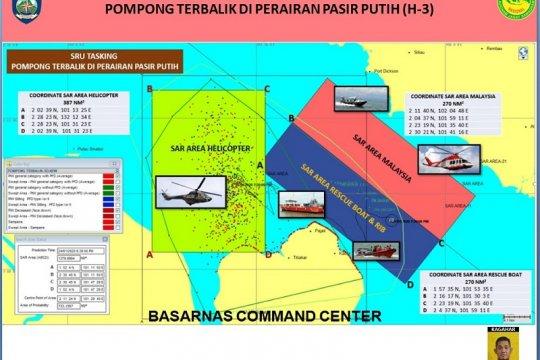 Malaysia ikut bantu pencarian korban kapal tenggelam di perairan Riau