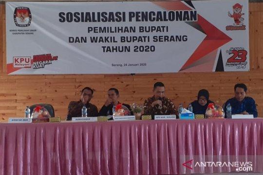 KPU Kabupaten Serang sosialisasikan pencalonan Pilkada Serang 2020