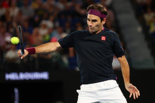 Roland Garros jadi ladang persiapan Federer menuju Wimbledon