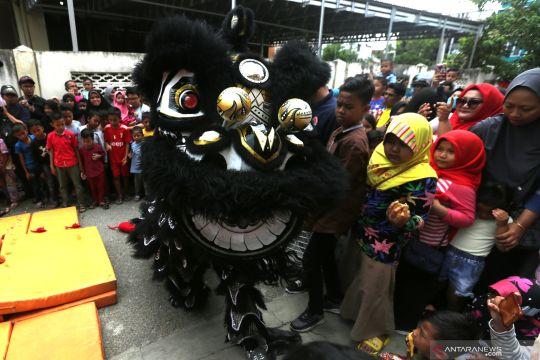 Barongsai Imlek  2571 di Banda Aceh