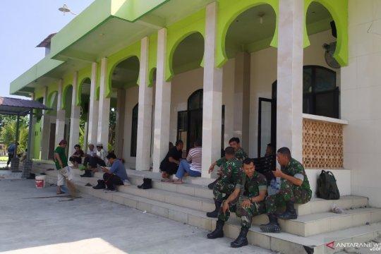 Pascabentrok di masjid, anggota TNI-Polri Sumut masih bersiaga