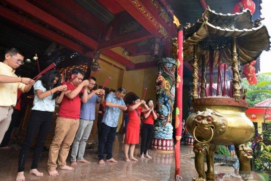 Perayaan Imlek di Banten