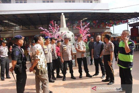 Kapolda Jambi pantau perayaan Imlek di Vihara Sakyakirti
