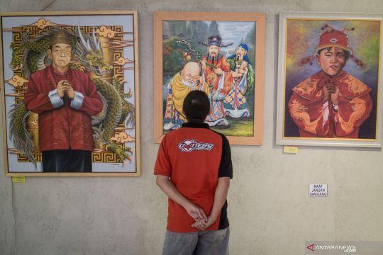 Pameran lukisan bertema Imlek