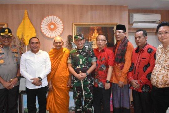 Pangdam I/BB: Sinergitas TNI-Polri memberikan rasa aman selama Imlek