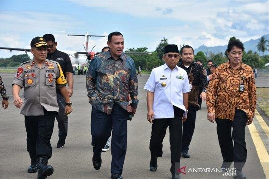 Kadis Kominfo Sulbar bantah perjamuan khusus Ketua KPK