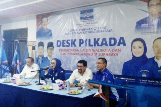 Demokrat pastikan rekomendasi bakal cawali Surabaya untuk Machfud