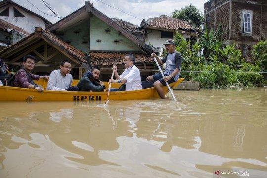 Warga terdampak banjir Kab Bandung jadi 60.055 jiwa