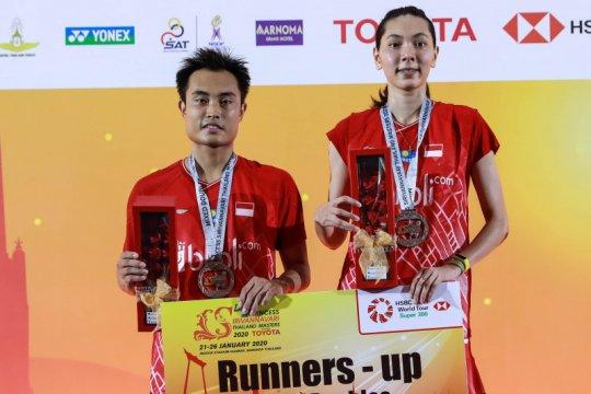 Hafiz/Gloria kurang puas jadi juara dua Thailand Masters 2020