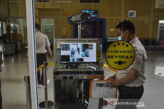 Antisipasi wabah corona, Bandara Pekanbaru aktifkan pendeteksi panas
