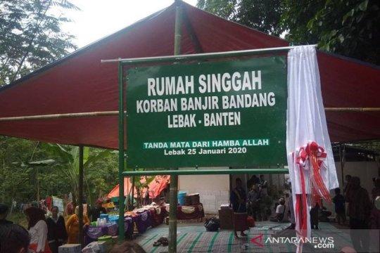 Relawan Jakarta bangun rumah singgah untuk korban banjir Lebak